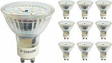 SEBSON® LED Lampe GU10 5W warmweiß 3000k,