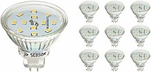SEBSON® LED Lampe GU5.3 / MR16 5W warmweiß
