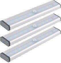 SEBSON LED Unterbauleuchte mit Bewegungsmelder,