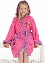 SECANETA Kinder-Bademantel für Mädchen, 100%