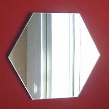 Sechseck Spiegel 45cm x 45cm