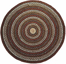 Second Nature Online Teppich, rund, gestreift,
