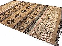 Second Nature Shari Fair Trade Teppich aus Jute