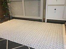 Second Nature Teppich, Fischgrätenmuster, weich,