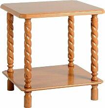 Seconique Brunton Lampe Tisch–Antik Kiefer Effek