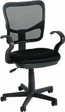 Seconique Clifton Computer Stuhl–schwarz