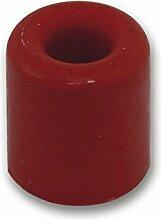 SECOTEC Türpuffer | Türanschlag | Türstopper | ø 30 mm | rot | inkl. Befestigungsmaterial