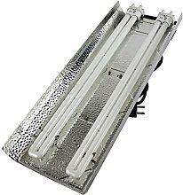 Secret Jardin TNeon 55W 9500K Set Armatur 2x LSR Anzucht Grow Pflanzenlampe ESL