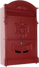 Secureo Briefkasten Girona rot