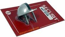 Securit Türstopper, Oval, Aluguss 50 mm