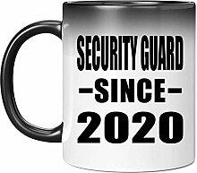 Security Guard Since 2020-11oz Color Changing Mug
