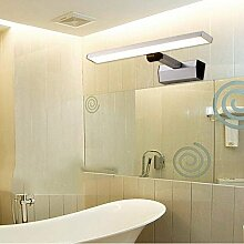 SED Badspiegel-Lampen- (Lichtmast einziehbar)