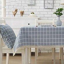 SED Cotton Leinen Tischdecke Einfach Modernen Stil