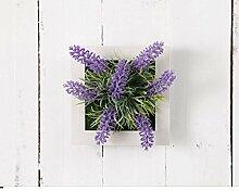SED Dekorationen-American Villageartificial Blumen