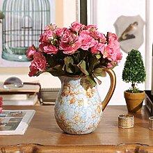 SED Dekorationen-europäischen Garten Blumenvase