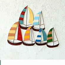 SED Dekorationen-Mittelmeer-Stil Segelboot