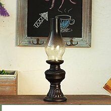 SED Dekorationen-Retro-Lampe Ornamente