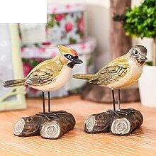 SED Dekorations-amerikanischen Land Vier Vogel