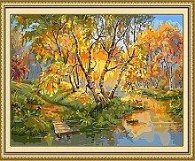 SED Herbstlandschaft Digitale Malerei