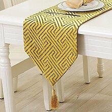 SED Kreative Mode Tischläufer Nylon Tischdecke