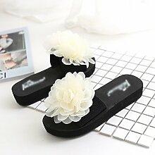 SED Pantoffeln - Handgemachte Flower Pantoffeln