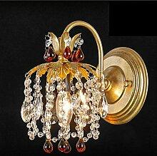 SED Wandlampe im amerikanischen Stil Doppelkopf