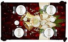 Sedensy Weihnachtliche Dekorative Tischdecke,