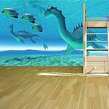 Seedrachen Wandbild Monster Fantasy Foto-Tapete Kinder Schlafzimmer Haus Dekor Erhältlich in 8 Größen Extraklein Digital