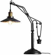 SEEKSUNG Schreibtischlampe,Schmiedeeiserne
