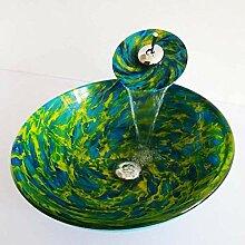 SEEKSUNG Waschbecken grünSpüle Material für die