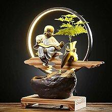SEESEE.U Kreativer Wasserbrunnen Brunnen Feng Shui