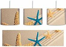 Seesterne im Sand inkl. Lampenfassung E27, Lampe