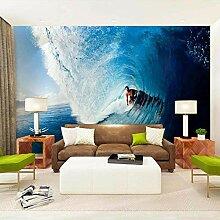 Seesurflandschaft,Tapete Wandtattoo,3D-Tv