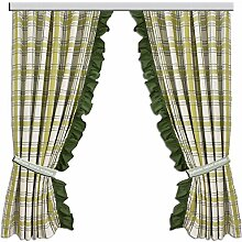 SeGaTeX home fashion Landhaus-Vorhang 2er Set
