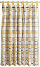 SeGaTeX home fashion Landhaus-Vorhang Hetty gelb