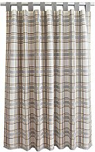 SeGaTeX home fashion Landhaus-Vorhang Hetty grau
