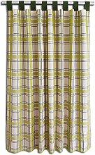 SeGaTeX home fashion Landhaus-Vorhang Hetty grün