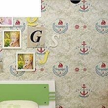 Segeln Hintergrundbilder Cartoon Kinder Schlafzimmer Vlies Tapete jungen England Tapete-A