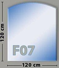 Segmentbogen F07 Funkenschutzplatte aus