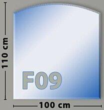 Segmentbogen F09 Funkenschutzplatte aus