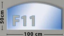 Segmentbogen F11 Funkenschutzplatte aus