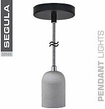 Segula LED Lampe, 25 W, Beton/Schwarz