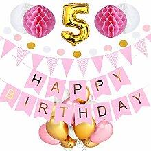 SeHan Geburtstagsdeko für Mädchen und Jungen ab