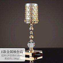 SEHBDY Kerzenhalter Glas Western Candlelight