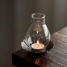 SEHBDY Kerzenhalter Home Light Kleiner