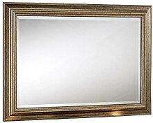 Sehnen, Classic facettiert, gerahmt Spiegel, 74x 102cm, silber