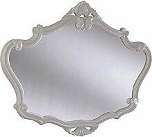 Sehnen, französischer Stil Spiegel, 91x 71cm, weiß