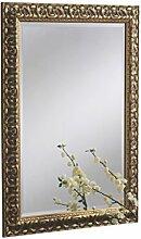 Sehnen, traditioneller Spiegel, gerahmt, 74x 102cm, gold