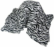 Sehr Weich Zebra Schwarz Weiß Fleece Überwurf