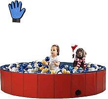 Sehrgo Hundpool 120cm Schwimmbecken hundebadewanne